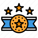 medal, star, reward, badge, award