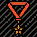 medal, success, reward, badge, award