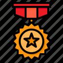 medal, winner, reward, badge, award