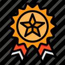 medal, winning, reward, badge, award