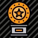 trophy, reward, winner, award, best, star
