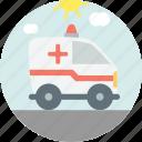 ambulance, emergency, medic, van icon