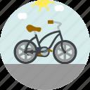 bicycle, bike, motor, ride icon