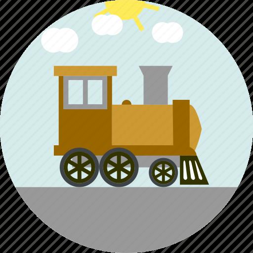 railroad, train, travel, trip icon