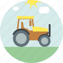 agriculture, agronomy, farm, truck icon