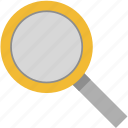 search, loupe, scan, lens, quest, magnifier, seo icon