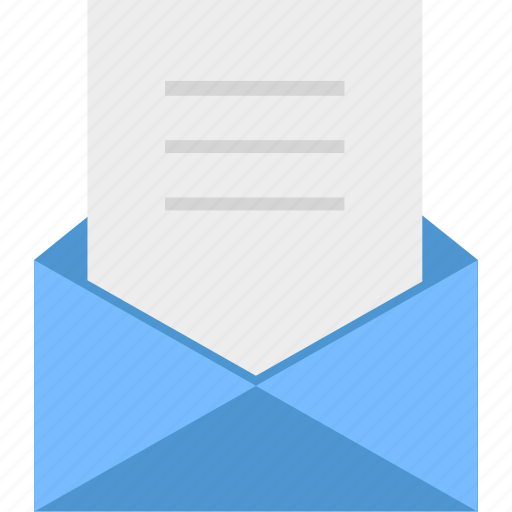 communication, envelope, letter, mail, send, to send a letter, write icon