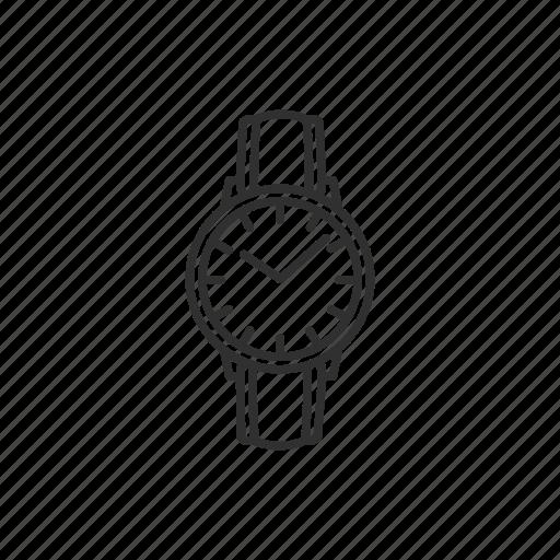 fashion watch, watch, watch for women, wristwatch icon