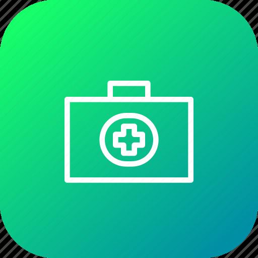 briefcase, healthcare, hospital, kit, medical, medicare icon