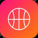 ball, basket, basketball, game, nba, olympic, sports icon