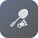 badminton, game, olympic, racket, shuttlecock, sports