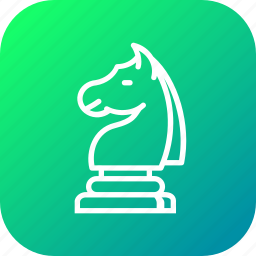 chess, game, horse, knight, move, statics, strategy icon