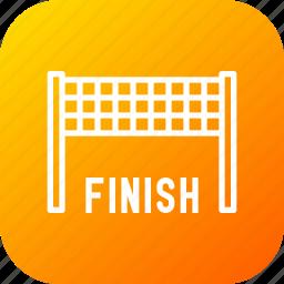 bike, car, finish, finishline, race, racing, sports icon