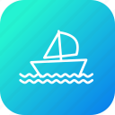 boat, game, olympics, race, sailing, ship, yatch icon