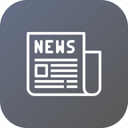 article, newsletter, newspaper, olympic, press, release icon