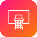 basket, basketball, game, nba, net, olympics icon