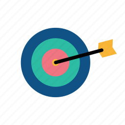 aim, archery, arrow, game, olympic, sports, target icon