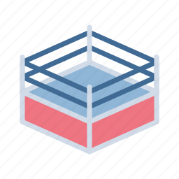 boxing, competition, fight, game, match, olympic, ring icon