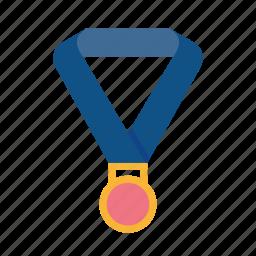 award, medal, position, reward, winner icon