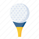 ball, equipment, game, golf, golfer, olympics, sport icon