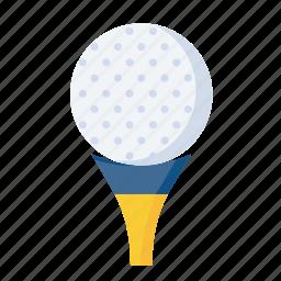 ball, equipment, game, golf, golfer, olympics, sport icon