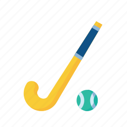 ball, game, hockey, olympics, sports, stick icon
