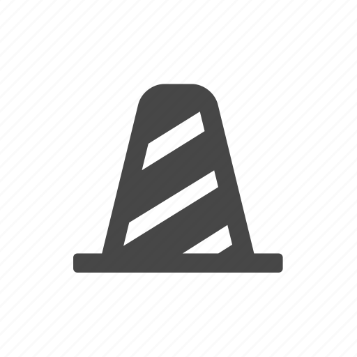 cone, construction, road, traffic icon