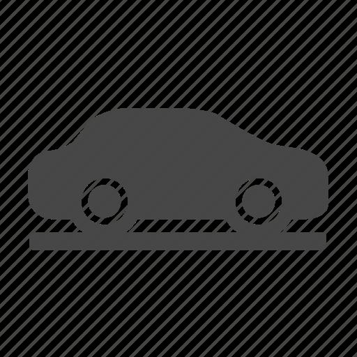 car, road icon
