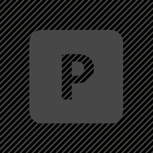 parking, road, sign, symbols icon
