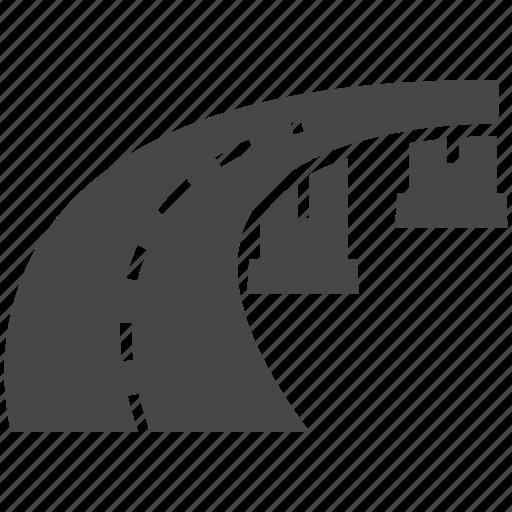 Bridge, road icon - Download on Iconfinder on Iconfinder