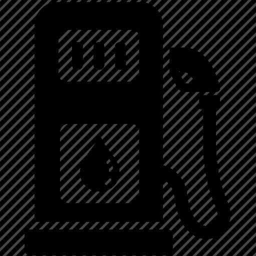 energy, fuel, gas, gasoline, petrol, pump, station icon