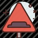 bumper, distance, transport, travel icon