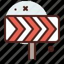 curve, distance, transport, travel icon