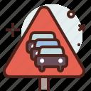distance, jam, transport, travel icon