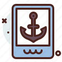 distance, port, transport, travel icon