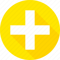 add, cross, plus, road, sign, warning icon