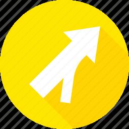 entering, merge, roadway, sign, warning icon