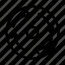 rotate, circle, road, path, sign