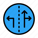 direction, arrow, board, left, right