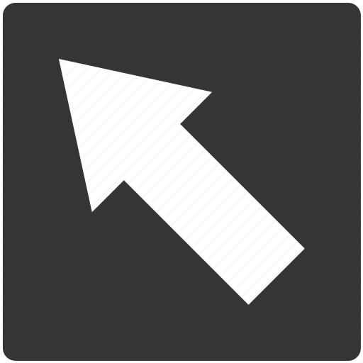 around, left, road, round, sign icon