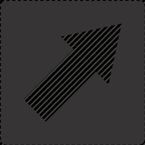 around, right, road, round, sign icon