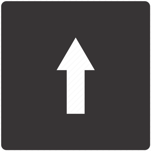 arrow, one, road, sign, traffic, way icon