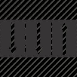 lane, road, sign, traffic icon
