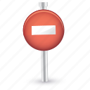 direction, forbiden, move, orientation, road, sign icon