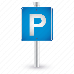 car, parking, road, sign, traffic icon