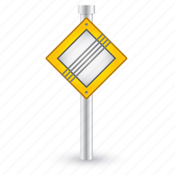 attention, end, priority, road, sign, warning icon