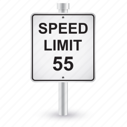 limit, road, shape, sign, speed, traffic icon