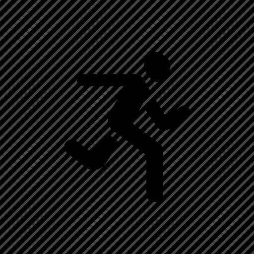 marathon, race, run, running, sport, sprint icon