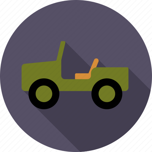 automotive, car, military, offroad, traffic, transport, vehicle icon