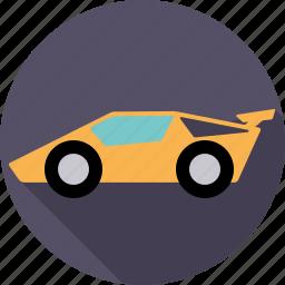automotive, car, luxury, sports car, super, transport, vehicle icon
